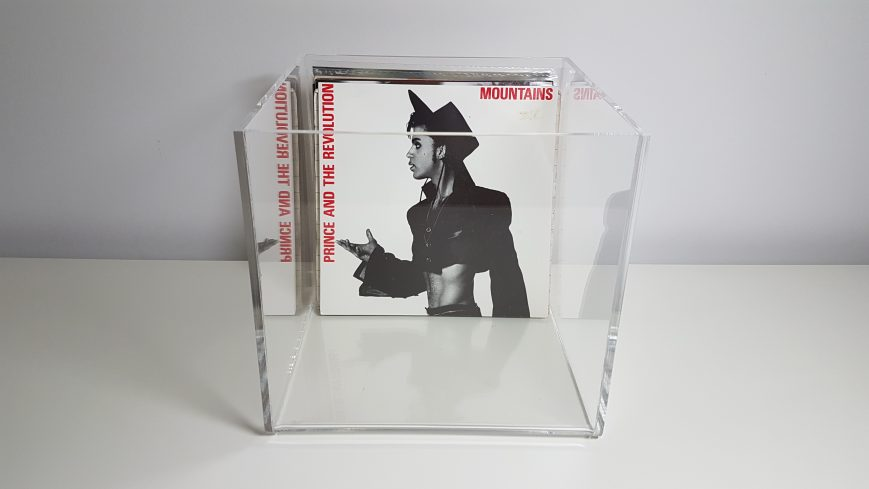 C-Thru Vinyl Record 7 Storage